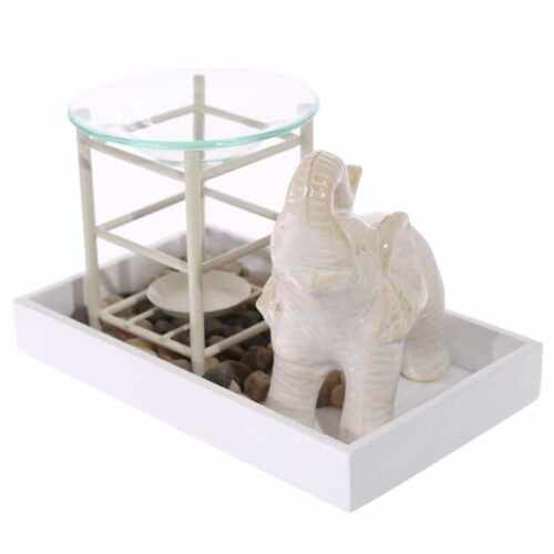 Elephant Shaped Candle Wax Tart Warmer Oil Burner Tea light Holder 5 Colors