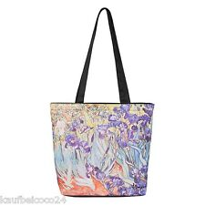 Tasche Umhängen bunt Blumen Damen Kunst Vincent van Gogh: Iris 4145