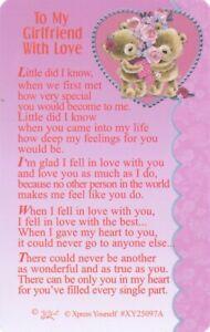 WALLET-CARD-TO-MY-GIRLFRIEND-WITH-LOVE-Purse-Keepsake-Sentimental-Valentine