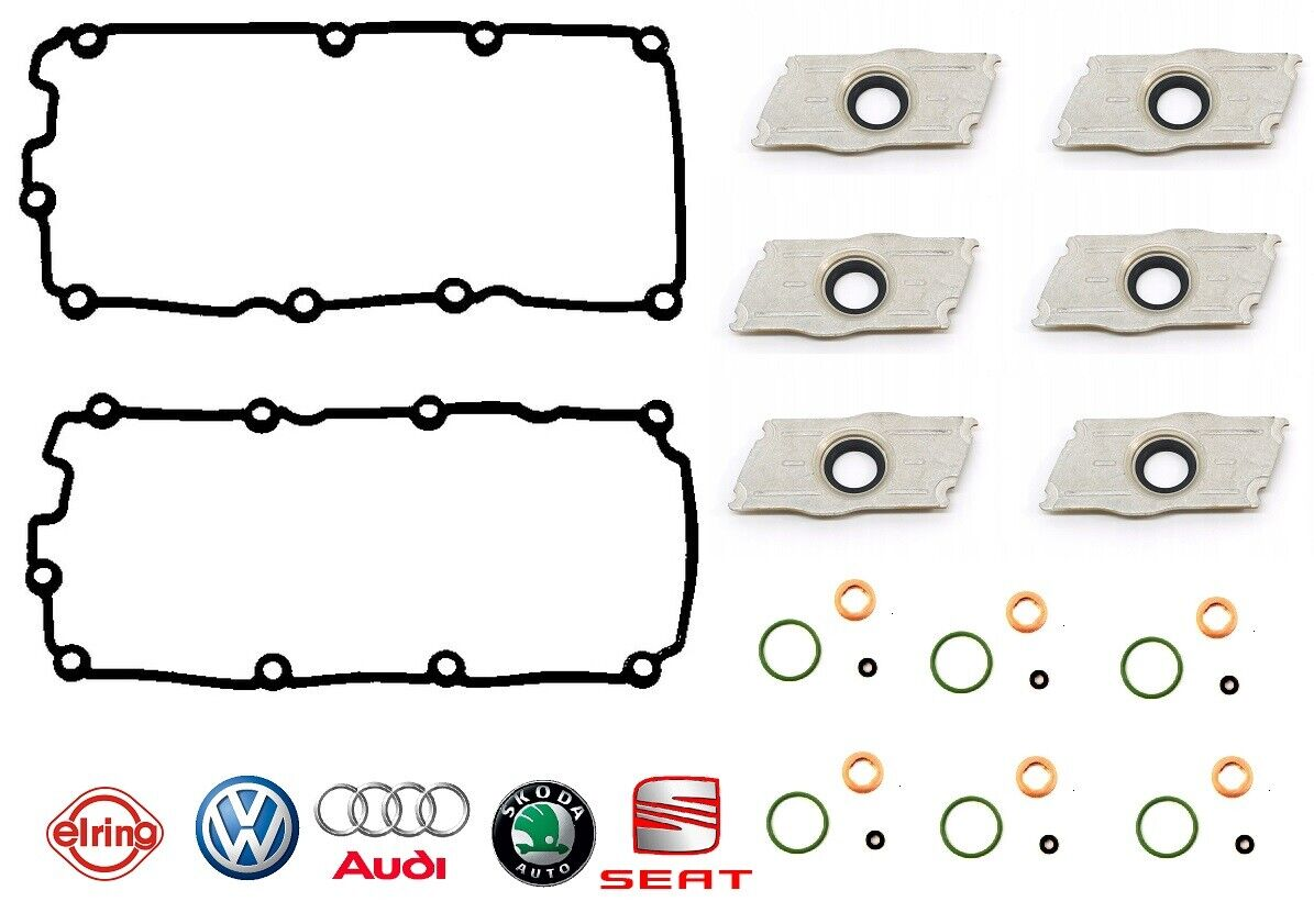 Audi A4//A6//A8  VW Passat V6 2.4//2.7T//2.8 97-05  Valve Cover Gasket Set Reinz