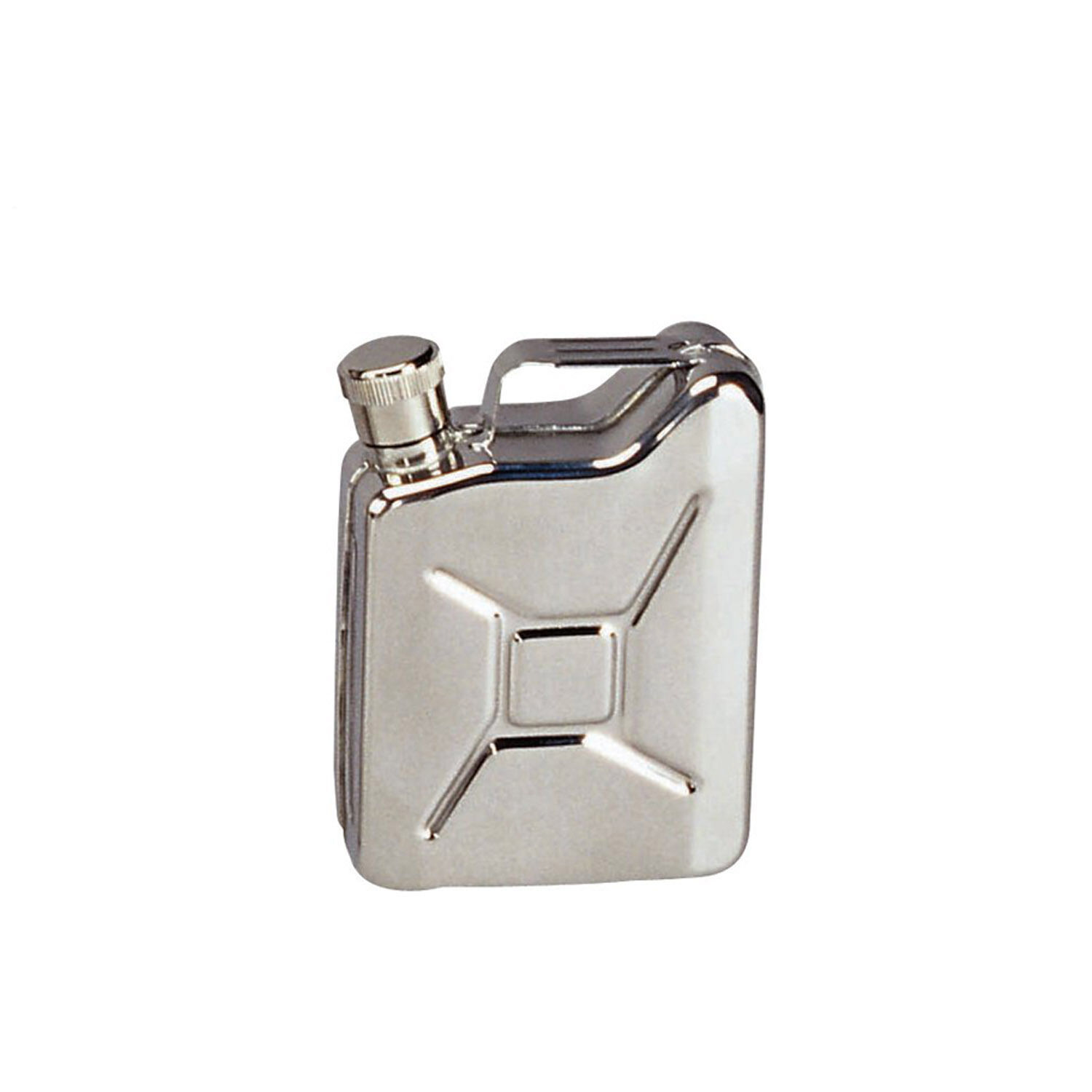 Hip Flask Stainless Steel Jerry Can Classic Military Fuel Can Style redhco 643