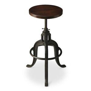 Pleasant Details About Butler Revolving Bar Stool Metalworks 2049025 Machost Co Dining Chair Design Ideas Machostcouk