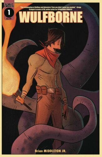 WULFBORNE #1 CVR A Middleton Scout Comics 2019 NM 02//20//19