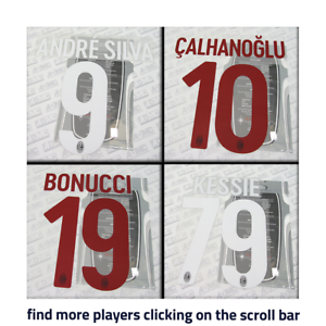 3edc69c600c AC Milan 2017-18 home, away, third, official Stilscreen name set ...