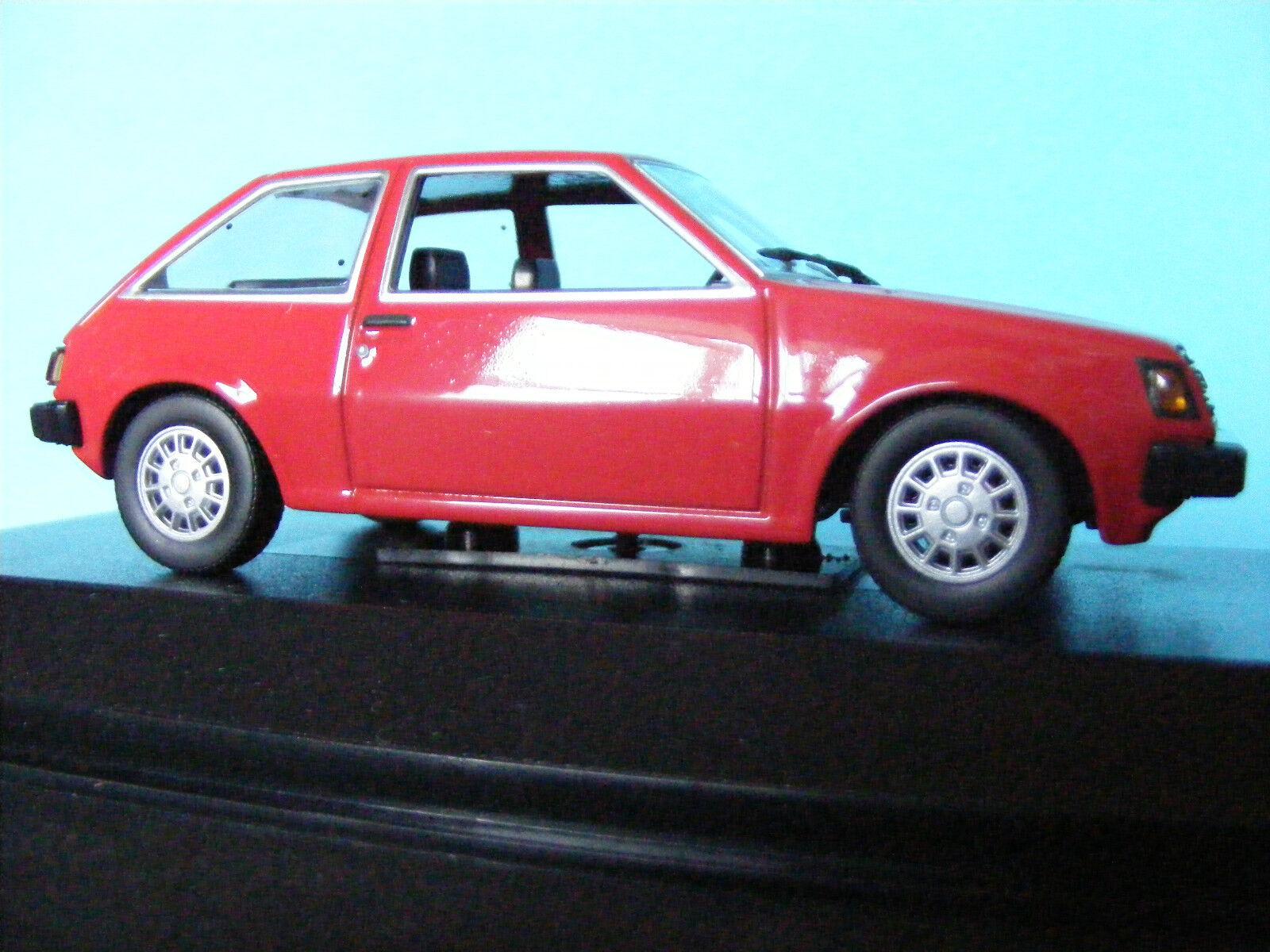 Mitsubishi Colt in Red 1978 LHD New  Minichamp  1 43 NLA