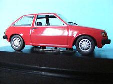 MITSUBISHI COLT in rosso 1978 NUOVE Lhd Minichamp 1:43 NLA
