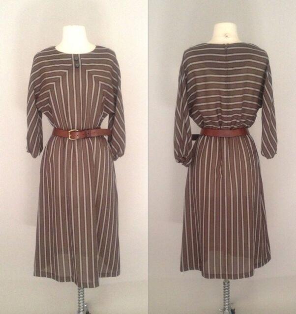 Vintage Leslie Fay Petites Dress Size Medium