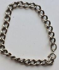 """Sterling Silver 925  8"""" Vintage Charm Bracelet"""