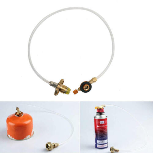 Details about  /Propane Refill Adapter Gas Tank Bottle Connector Hose for Picnic Camping ZKY