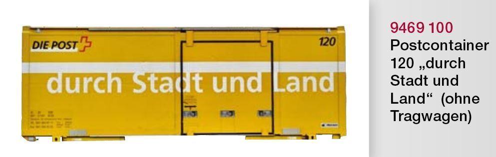 BEMO 9469 9469 9469 100 9469100 avente post container 120  attraverso città e campagna  traccia 0m 10bcb1