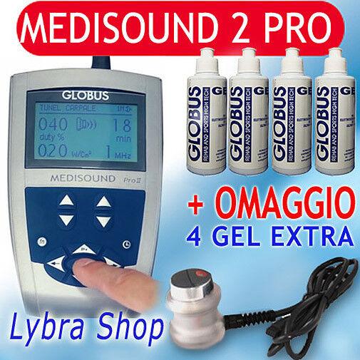 Globus MEDISOUND 2 PRO Terapia Ultrasuoni Profess Ultrasuono II 18prog Salute