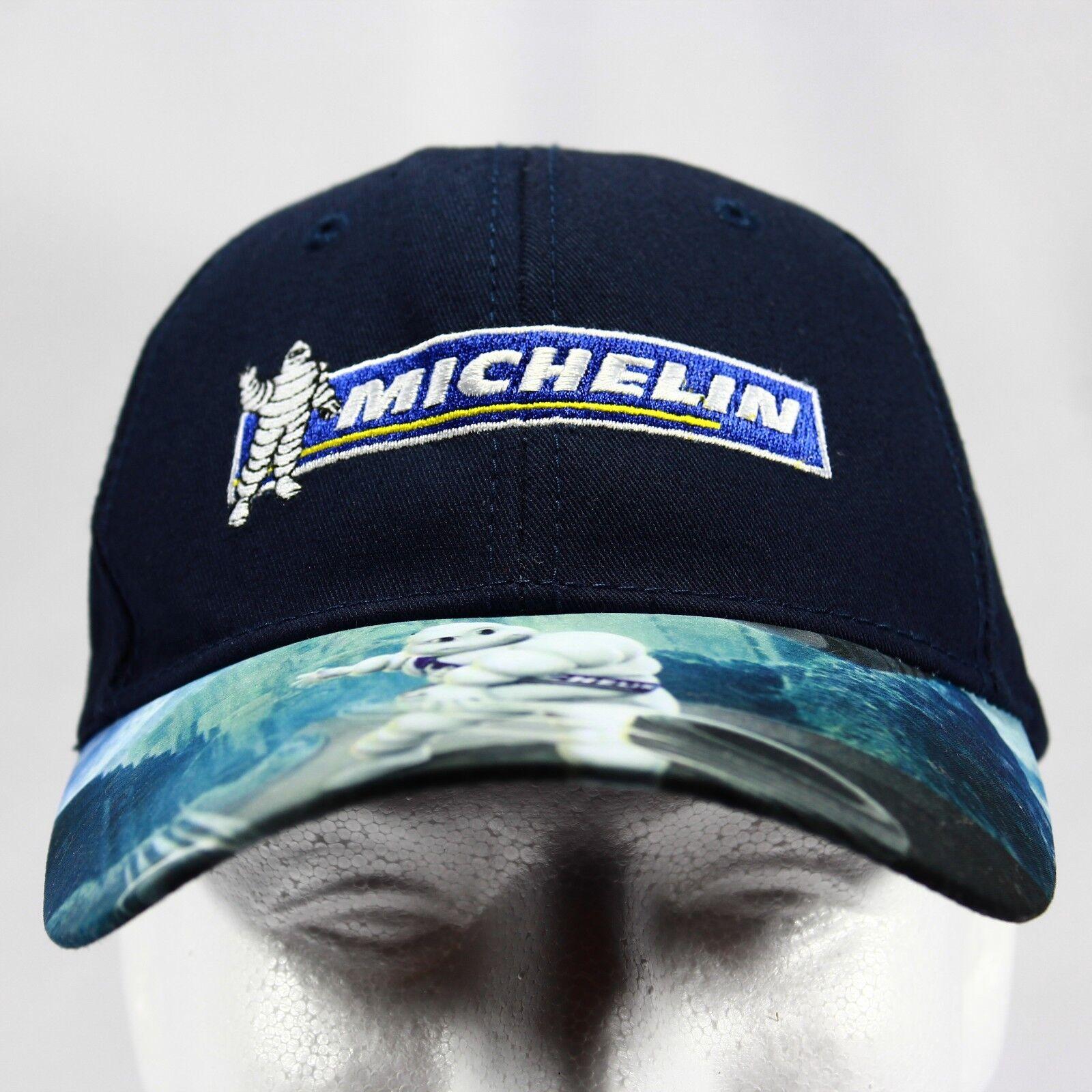 Michelin Man Baseball Throwing Cap Hat Adjustable Strapback Throwing Baseball Tire Graphic Bill 8870b6