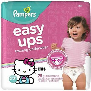 Pampers-Easy-Ups-Training-Pants-Pull-On-for-Girls-Size-4-2T-3T-26-ea