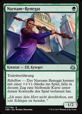 2x Narnam Renegade Narnam-Renegat Aether Revolt Magic