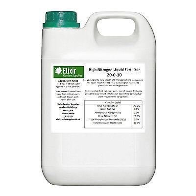 Elixir High Nitrogen Flower Vegetable Plant Food / Fertiliser | 1 Litre