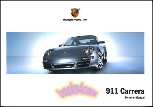 2008 porsche 911 owners manual set cpe cabrio 997 pcm carrera s c2s rh ebay com porsche 997 owner's manual porsche 997 owners manual uk