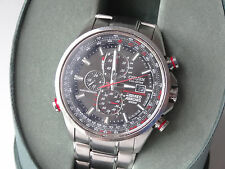 Citizen Eco-Drive Men's Red Arrows World A.T Chronograph Watch AT8060-50E