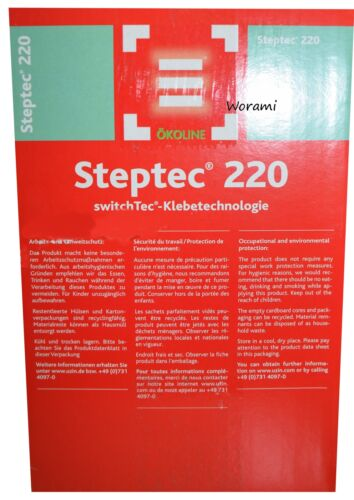 25m.*220mm Klebeband für Treppenbelag Uzin 1 Rolle SwitchTec Steptec 220