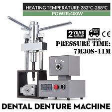 Dental Flexible Denture Machine 400w Heater Dentistry Injection System Hot Press