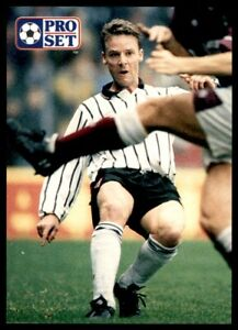 Pro Set 1991//1992 escocés-Wilson Dunfermline Athletic no 36 Tommy