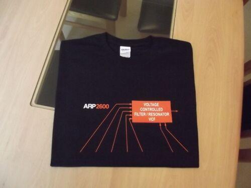 T-Shirt Retrò SYNTH Sintetizzatore ARP Design 2600 Filtro S M L XL XXL
