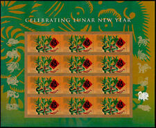 2018 Celebrating Lunar Year of The Dog 12 X Forever STAMPS 5254 Lucky Bamboo