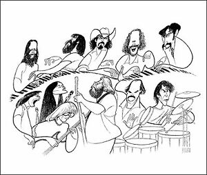 Al-Hirschfeld-039-s-GRATEFUL-DEAD-Hand-Signed-Limited-Edition-Lithograph