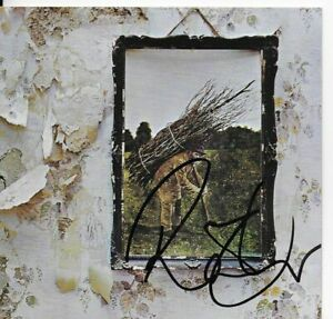 LED-ZEPPELIN-4-personally-signed-CD-cover-ROBERT-PLANT