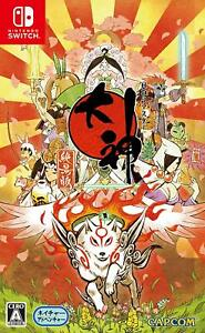 NEW-Okami-Zekkeiban-Capcom-Nintendo-Switch-From-Japan-Import