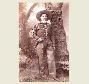 1880-Calamity-Jane-PHOTO-Buffalo-Bill-Wild-West-Show-Wild-Bill-Hickok-Pal