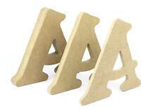 Letras de madera MDF 20cm cortadas a mano letras del alfabeto y números