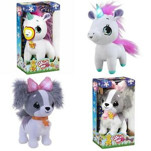 Wish-Me-Unicorn-Pinky-amp-Puppy-Cavalier-Light-Up-Toys-with-Sounds-Educational-New