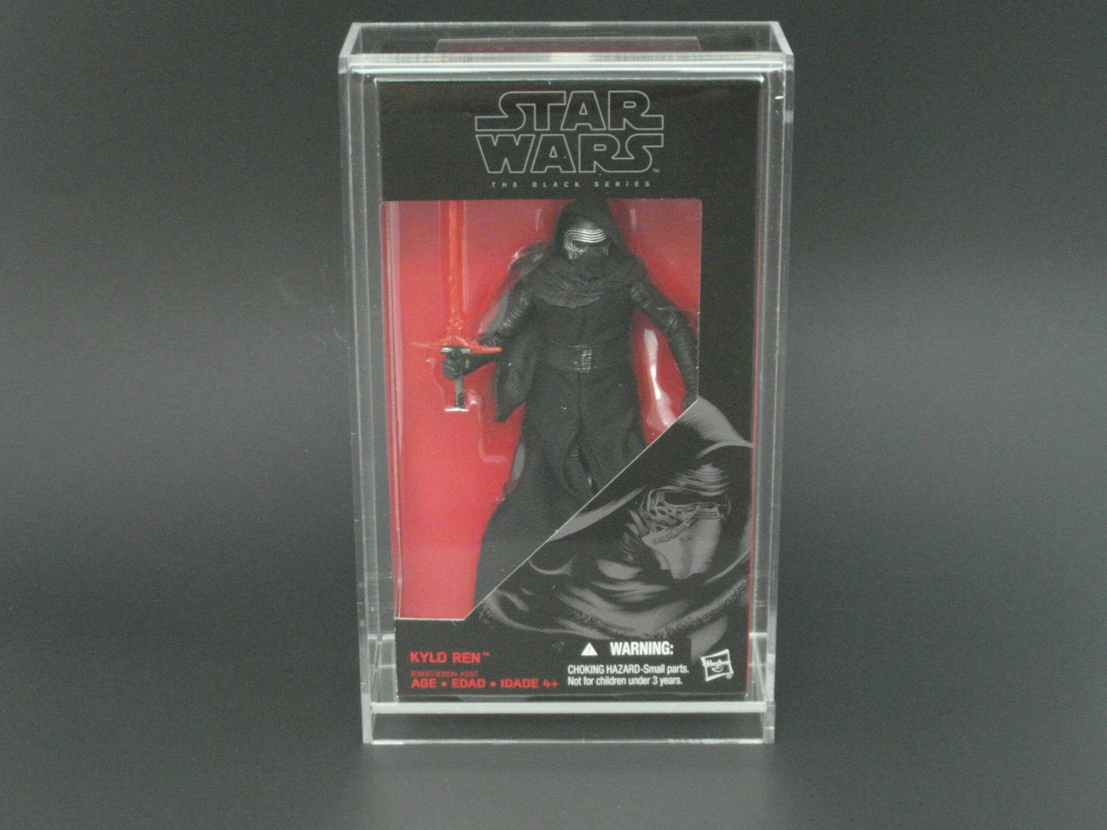 10 x GW Acrylic Display Cases - Boxed 6  Star Wars Black Series (AVC-001)