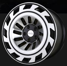 18X9.5 Radi8 T12 5x112 +42 Black Rims Fits VW jetta (MKV,MKVI) Passat B6