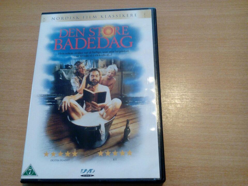 Den store badedag , DVD, andet
