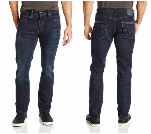 54af2c66 Mens Levi's 511 Slim Fit Stretch Jeans Sequoia Blue Size 31 X 32 SH ...