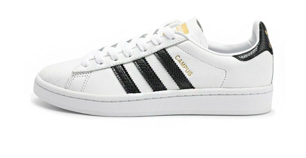 ADIDAS CAMPUS WHITE NEW STYLE MEN'S SNEAKERS CQ2074