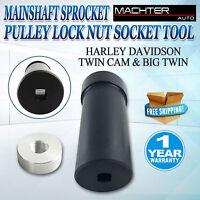 Harley Davidson Mainshaft Sprocket Pulley Lock Nut 1 7/8 Socket Tool 6 Speeds