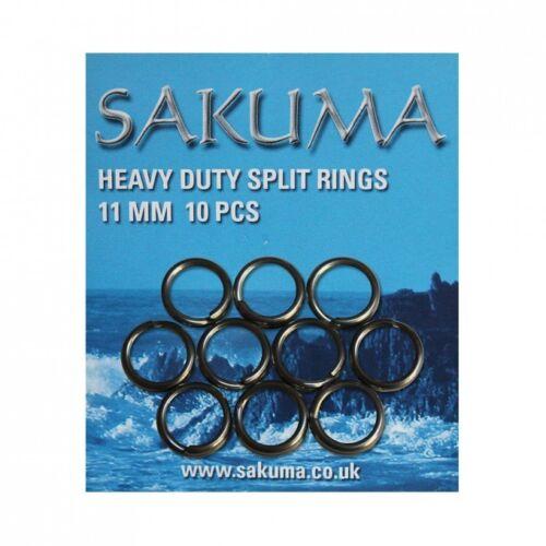 Sakuma Heavy Duty Split Rings