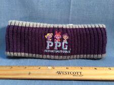 Vintage 2002 cartoon Network Powerpuff Girls Embroidered Headband Head Wear Hat