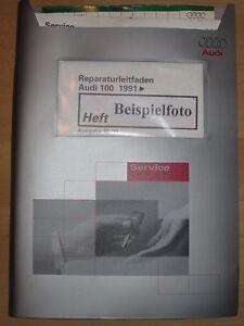 Audi-100-91-C4-4-2l-ABH-MOTOR-S4-o-AHK-MOTRONIC-Einspritzanlage-S6-Reparaturlei