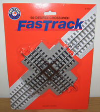 LIONEL 6-12019 90 DEGREE CROSSING CROSSOVER TRAIN FASTRACK FAST TRACK O GAUGE