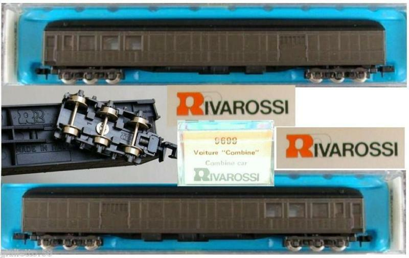 RIVAROSSI 9699 RAILWAY CARRIAGE POSTAL UNLETTERED OVP LADDER-N