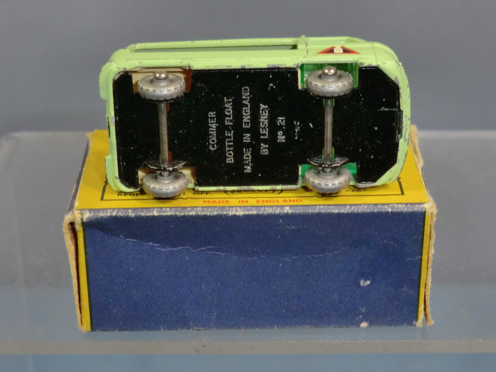 M/Scatola MOKO Lesney modello No.21c COMMER Bottiglia Bottiglia Bottiglia galleggiante VN Nuovo di zecca con scatola 1d7086