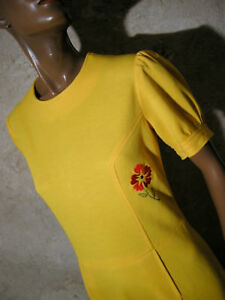 Vtg True Jersey Robe Dress Vintage Chic 1970 Ann wXq44C