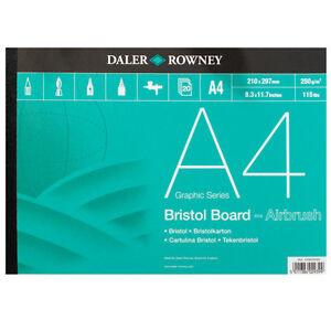 Daler Rowney Bristol Board Pad A4 Size