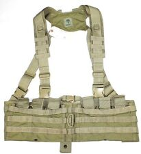 S.O. Tech MJK Khaki Tan H-Harness Molle Rifle Chest Rig EAGLE INDUSTRIES SFLCS