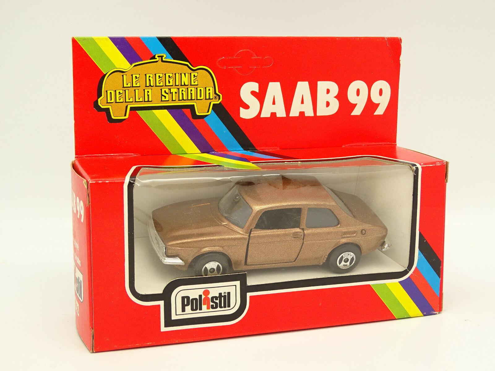 Polistil 1 43 - - - Saab 99 brown Metallo 39ebe7