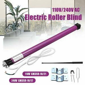 GM35R-Electric-Roller-Blind-Shade-Tubular-Shutter-Motor-amp-Remote-Control