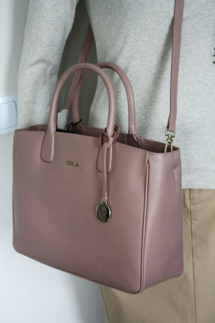 Furla 879337 Bag Camilla Medium Tote Leather Color Moonstone New
